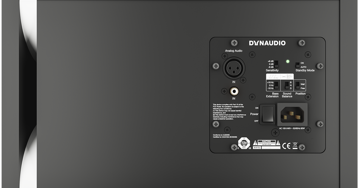 Dynaudio LYD-48 Back